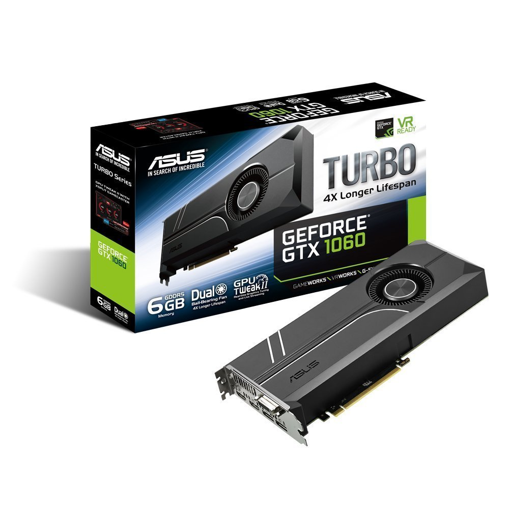 Asus GeForce TURBO-GTX1060-6G